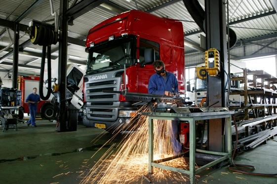 обслуживание грузовых авто